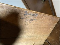 Antique Queen City Shipping Crate