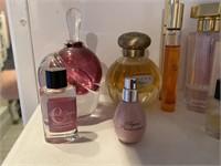 Designer Perfumes & Pink Perfume Bottle