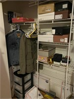 Contents of Closet