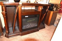 Entertainment Center w/electric heater
