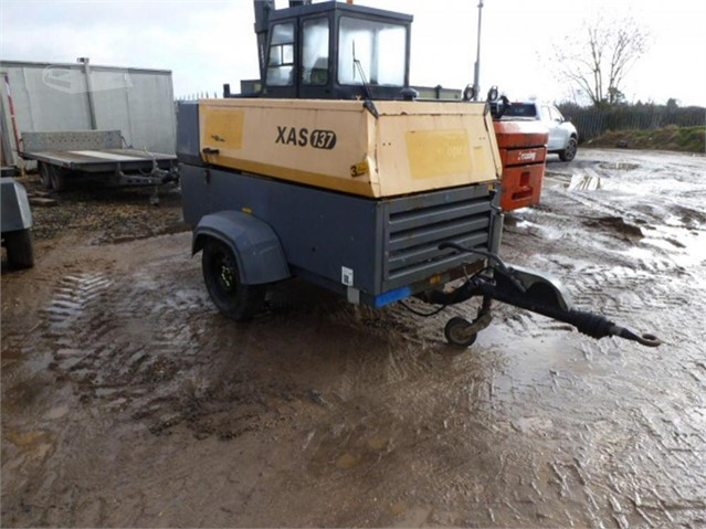 2011 ATLAS COPCO XAS137DD at www.used-compressors.co.uk