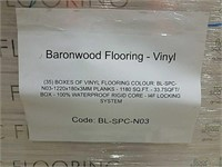 "(1180) SQ FT OF BARONWOOD 7"" VINYL"