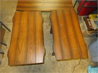 Mid-Century Coffee Table & 2 Matching End Tables