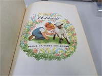 1954 Childcraft Book Poems of Early Childhood