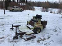 1982 Grasshopper Mower- Needs new motor
