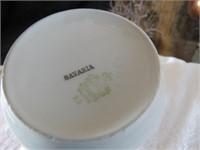 BAVARIA TEA POT, CREAM & SUGAR, 1 TEA CUP & SAUCER