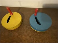 Vintage US Tin Toy Noisemakers (Works)