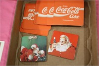 coca-cola collectables, currency , coins , jewlery , etc