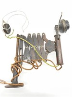 Antique Phone Operator Set with Headset - Leich