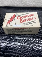 Quantum battery high capacity pack for portable