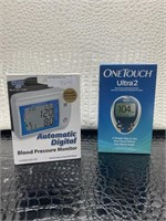 Automatic digital blood pressure monitor one