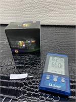 Original Rubik's speed Cube L.L. Bean clock and