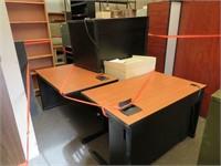 (3) Assorted Office Desks & More
