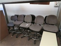 (2) Assorted File Cabinets & Chairs