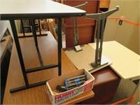Assorted Wood Desks & More