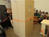 (2) Metal Storage Cabinets