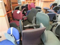 Large Lot of Assorted Office Chairs