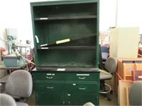 (1) Storage Cabinet & (1) Bookshelf