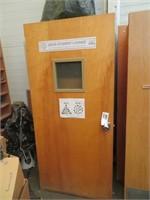 (5) Wood Doors