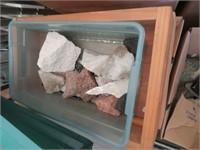 Pallet of Assorted Rocks