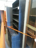 Lot of Assorted Wood Shelving & More
