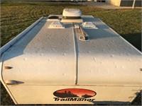 2011 TrailManor Folding Hardwall Travel Trailer