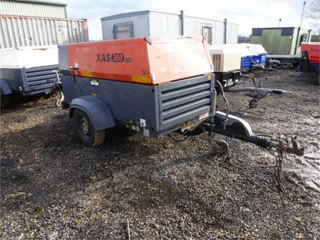 2010 ATLAS COPCO XAS300DD7 at www.used-compressors.co.uk