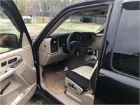 03 CHEVROLET STEPSIDE EXTENDED CAB TRUCK