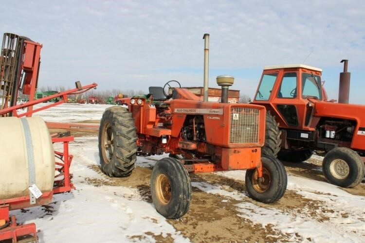 1971 AC 190XT Tractor #29196