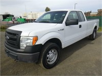 2013 Ford F150 Extra Cab Pickup Truck