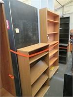 (5) Assorted Bookshelves & (1) Table