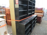 Metal Storage Box & Assorted Shelving