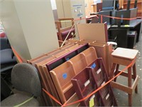 Assorted File Storage, Stool & More