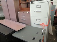 Metal Shelving, File Cabinets & More