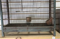LARGE ATIQUE BIRD CAGE 21X10X37