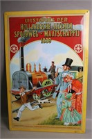 METAL ARTS TIN SIGN 15X23