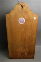 WOODEN WALL MOUNT FOUNTAIN WITH BASIN 11X24