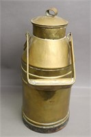 METAL LIQUID CONTAINER WITH LID AND HANDLE 7X15