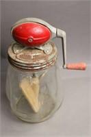 GLASS MIXING JAR WITH MIXER 7X12