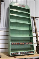 COLEMAN METAL GENUINE PARTS CABINET 17X4X37