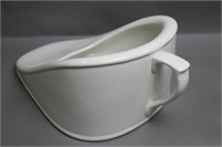 BOOTS CERAMIC BED PAN 9X5X14