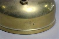 COLEMAN QUICK-LITE GAS LANTERN WITH MILK GLASS