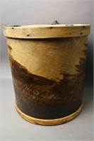 WOODEN FISH PAIL 11X12