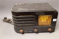MEGACYCLES TABLE TOP CLOCK RADIO