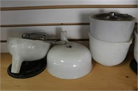 SUNBEAM MIXMASTER WITH BOWLS AND ACCESSORIES