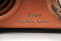 NORTHERN ELECTRIC MIDGE RADIO 12X4X6