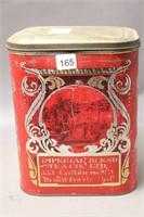 IMPERIAL BLEND TEA TIN BRATFORD, ONT