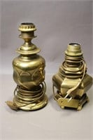 TWO TABLE LAMP BASES