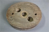 LOT OF FOUR WOODEN HAT FORMS