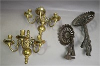LOT OF FOUR WALL SCONCES